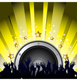 music party vector image vector image