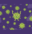 virus infection or bacteria background vector image