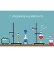 laboratory experiment vector image