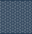 abstract blue flabric pattern vector image vector image
