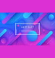 abstract dynamic blue pink purple background vector image vector image
