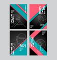annual report 2019 202020212022 future vector image vector image