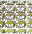 bills cash money to economy business background vector image vector image