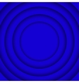 Concentric Blue 6 Circle Blue Background vector image