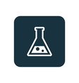 laboratory icon Rounded squares button vector image vector image