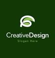 letter g creative business modern logo vector image vector image