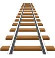 rails 02 vector image vector image