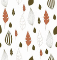 seamless leaf pattern 380x400 vector image