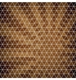 Abstract background of hexagons in retro style vector image vector image