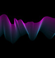 abstract background with color wave design element vector image vector image