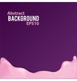Abstract background with liquid frame vector image vector image