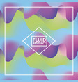 abstract covers fluids vector image vector image