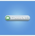 Comment Button vector image