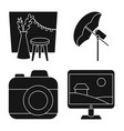 isolated object business and hobbies symbol vector image vector image