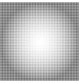 abstract black and white dotted halftone vector image vector image