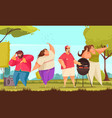 body positive vector image vector image