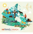 Canada Travel Collection vector image vector image