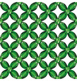 Flower Mesh emeralds seamless texture vector image vector image