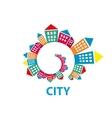 logo city vector image vector image
