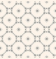 ornamental seamless pattern carved shapes lattice vector image vector image