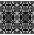 Psychedelic black and white abstract background vector image vector image