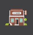 shop store building market vector image vector image