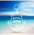 Summer Design Blur Beach Background vector image vector image