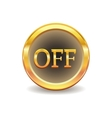 turn off button vector image vector image