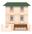 A big house vector image vector image