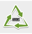 Arrows icons graphic vector image vector image