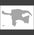 dotted map capital city baku vector image vector image