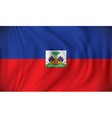 Flag of Haiti vector image vector image