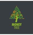 logo money tree vector image vector image