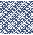 Meander diagonal pattern - greek ornament vector image vector image