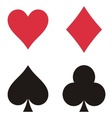 Play cards vector image vector image