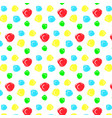 seamless pattern with colorful circles of vector image