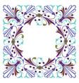 simple flat design border frame vector image vector image