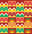 tribal geometric seamless pattern african kente vector image