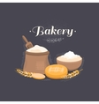 banner bakery vector image vector image