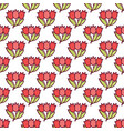 bouquet of tulips seamless pattern4 vector image