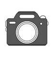 camera icon design vector image vector image