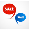 Colorful Sale Icons vector image vector image