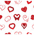 heart on valentines day in love lovely red vector image vector image