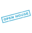 Open House Rubber Stamp vector image vector image