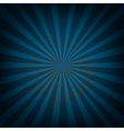 Retro Vintage Square Blue Sunburst vector image