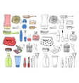 Skin care Accessories for skin vector image vector image