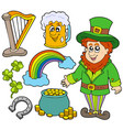 st patricks day collection 2 vector image