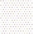 Varicolored polka dot background Non seamless vector image