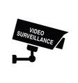 video surveillance icon security vector image