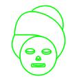 Face masker vector image vector image